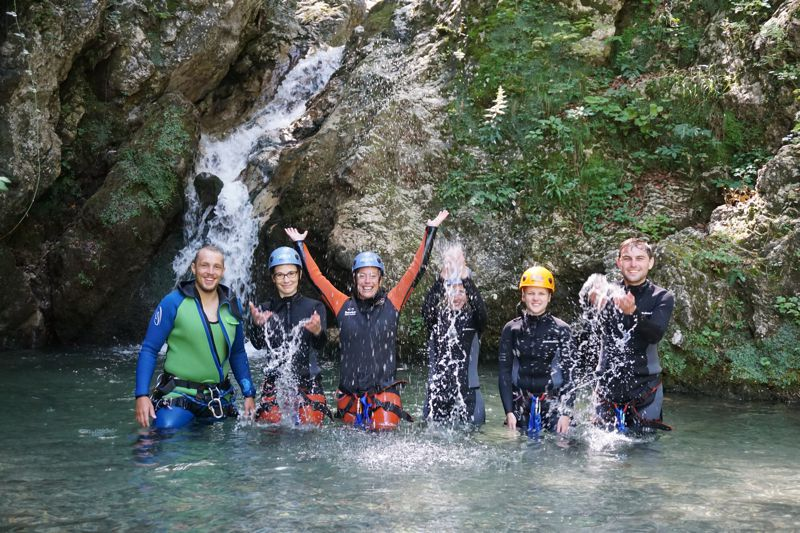 Canyoning Bovec slovenie-328